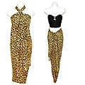 Feline Light Leopard Print Sarong (Indonesia)