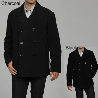Kenneth Cole Reaction Men's Wool Blend Peacoat FINAL SALE