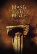 Thinline Large Print Bible: New American Standard Bible (Hardcover)