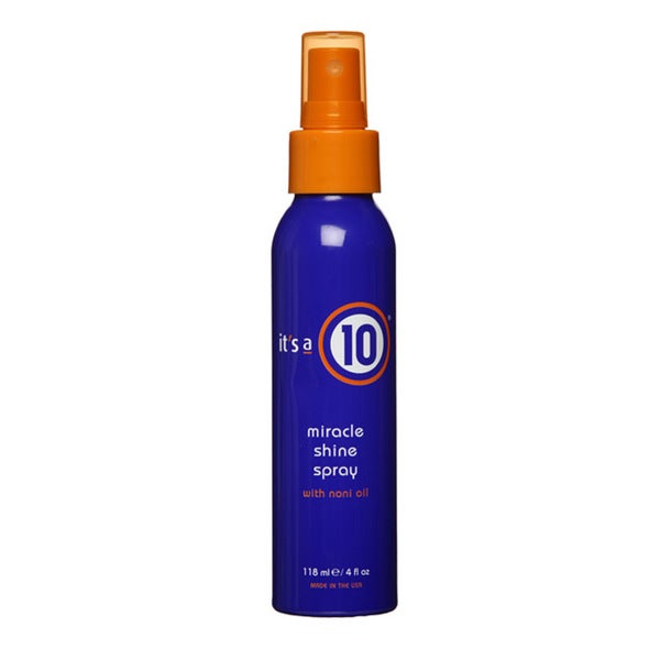 It's a 10 4-ounce Hair Shine Spray