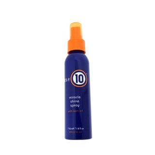 It's a 10 4-ounce Hair Shine Spray