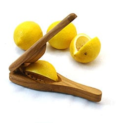 EcoTeak Wood Lemon Squeezer (Thailand)
