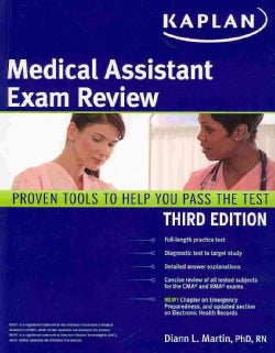 Kaplan Medical Assistant Exam Review (Paperback)
