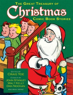 The Great Treasury of Christmas Comic Book Stories (Hardcover)