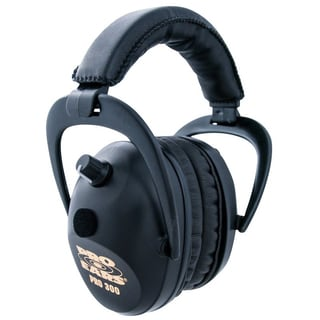 Pro Ears P300B NRR 26 Pro 300 Electronic Hearing Protection and Amplification Black Ear Muffs