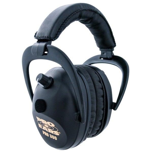 Pro 300 NRR 26 Black Ear Muffs (WWP)
