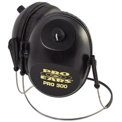 Pro 300 NRR 26 Black Behind the Head Ear Muffs