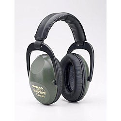 Pro Ears Ultra NRR 26 Green Ear Muffs