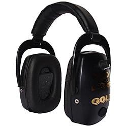 Pro Ears Pro Slim Gold NRR 28 Black Ear Muffs (WWP)