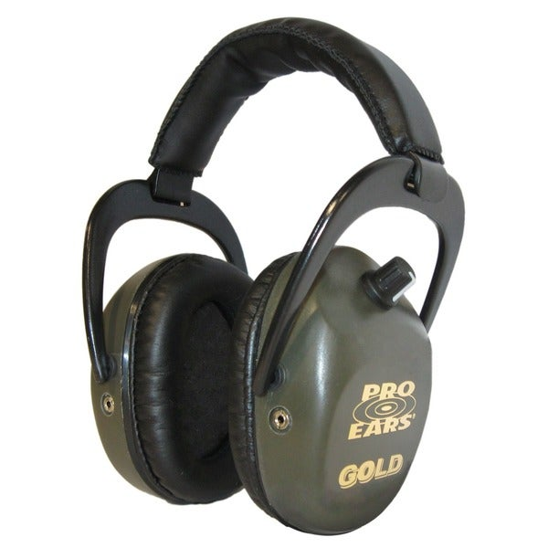 Pro Ears Stalker Gold NRR 25 Green Headphones (WWP)