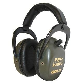 Pro Ears Stalker Gold NRR 25 Green Headphones (WWP)
