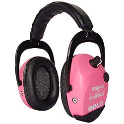 Stalker Gold NRR 25 Pink Headphones
