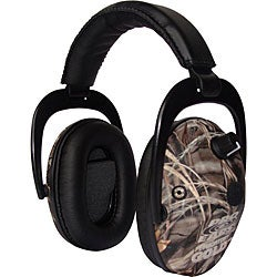 Pro Ears Predator Gold NRR 26 Real Tree Advantage Max 4 Camo Ear Muffs (WWP)