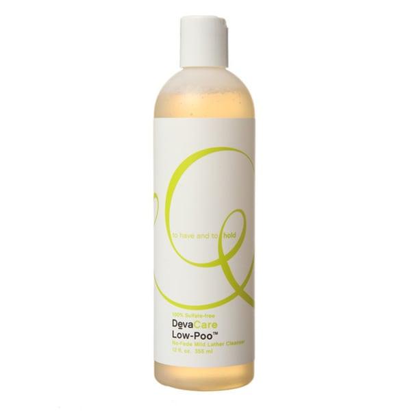 DevaCare Low-poo 12-ounce Shampoo