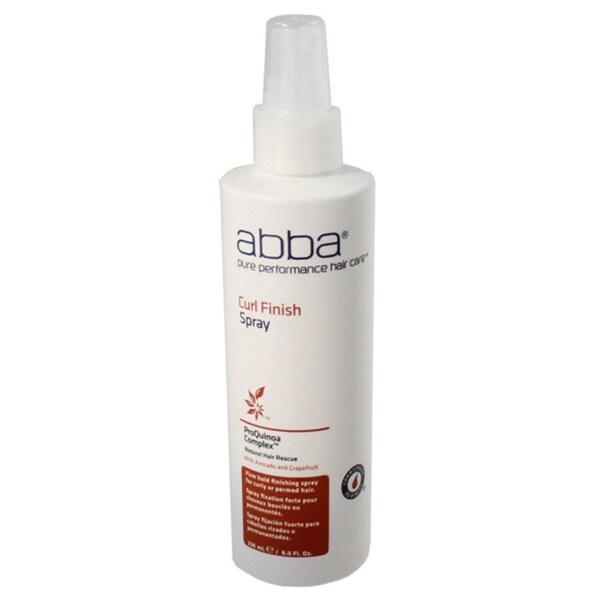 Abba Pure Curl 8.45-oz Finish Spray
