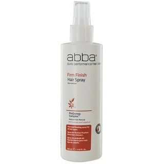 Abba 8-ounce Firm Finish Spray