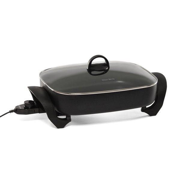West Bend Large Oblong Electric Skillet