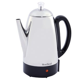West Bend Stainless Steel 12-cup Percolator