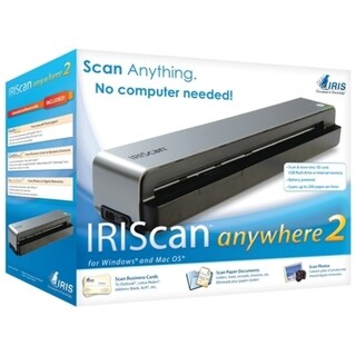 I.R.I.S IRIScan Anywhere 2 Sheetfed Scanner - 600 dpi Optical