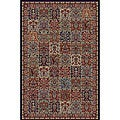 Panel Red Oriental Rug (6'7 x 9'3)