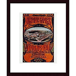 'World's Fair 1904' Wood-framed Art