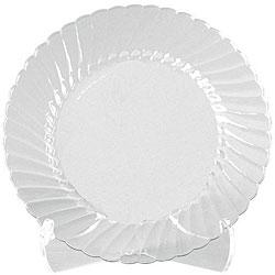 WNA Comet 10.5-in Clear Classicware Plates (Case of 144)
