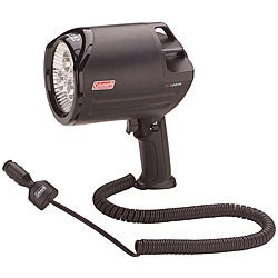 Coleman Black Shatterproof 555-lumen 12-volt Direct Plug LED Spotlight
