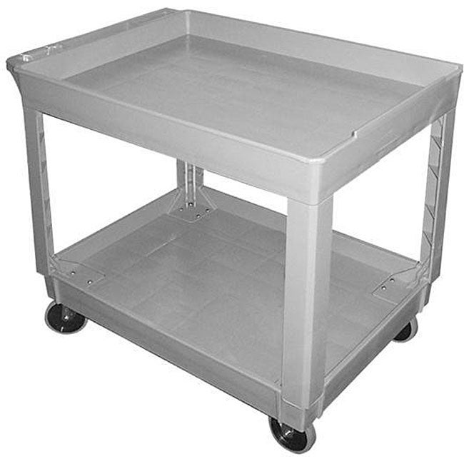 Factory Utility Cart: Continental Manufacturing Grey Utility Cart