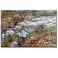 Frederick Childe Hassam 'Water Garden' Small Canvas Art