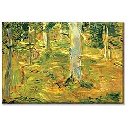Small Berthe Morisot 'Forest' Canvas Art