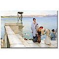 Alma-Tadema 'A Kiss' Canvas Art