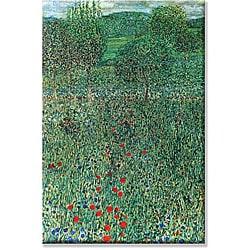 Gustav Klimt 'Garden Landscape' Extra Large Art Print