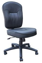 Boss Bonded Leather Mid-back Task Chair