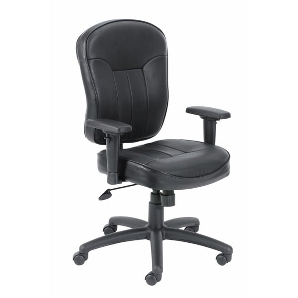 Boss Bonded Leather Loop Arm Task Chair 23084838
