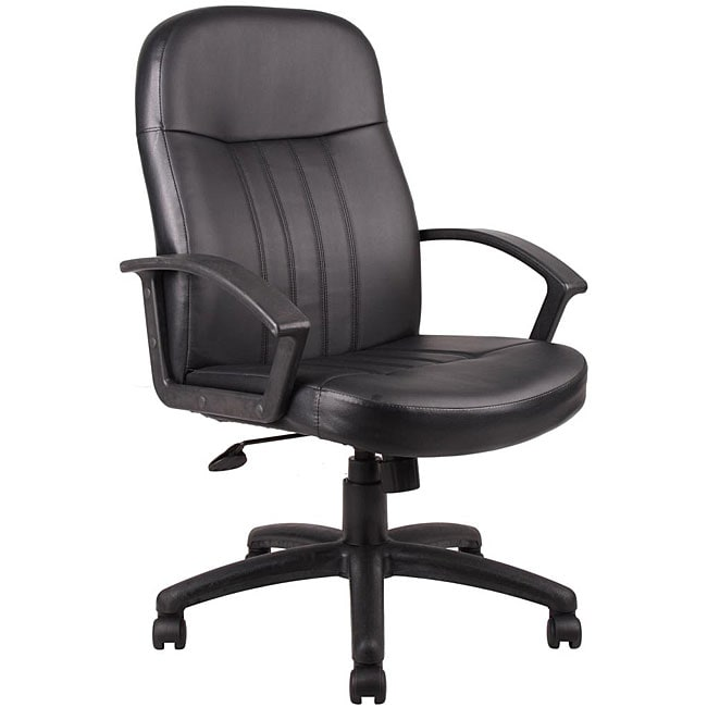 Bonded Leather Chair Chairs Office Computer Desk Furniture Back EBay