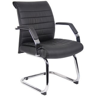 Boss Mid-back Black Chair