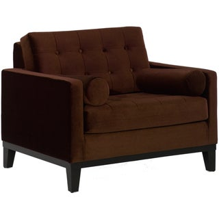 Modern Brown Velvet Chair