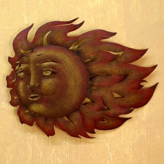 Steel 'The Sun's Song' Wall Art (Mexico)