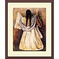 RufinoTamayo 'Woman From Tehautepec' Framed Art Print