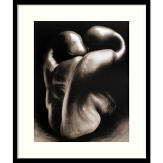 Edward Weston Pepper No. 30 Framed Art Print