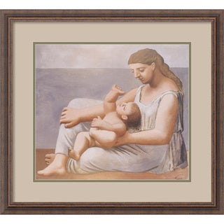 Pablo Picasso 'Mother and Child, 1921' Framed Art Print