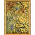 Claude Monet 'Irises' Framed Art Print