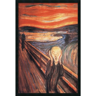 Edvard Munch The Scream Gel-Coated Textured Art