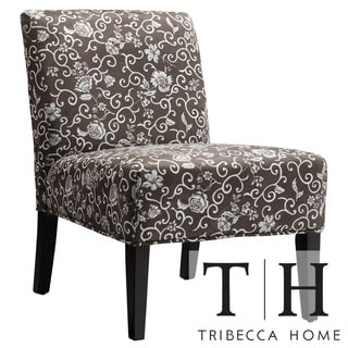Tribecca Home Decor Floral-print Lounge Chair