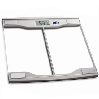 Modern Digital with Glass Top Bathroom Scale