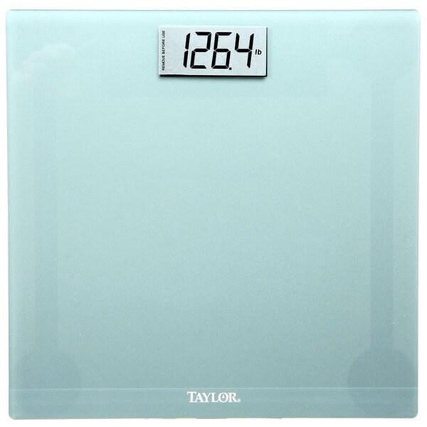 Taylor Silver Square Glass Digital Scale