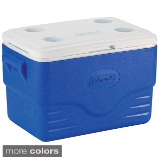 Coleman 36-Quart Blue Cooler