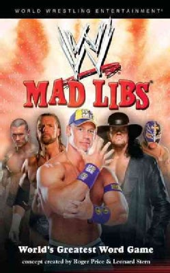 WWE Mad Libs (Paperback)