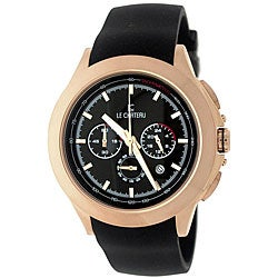 Le Chateau Men's Sport Dinamica Rose Gold-Plated Chrono Watch