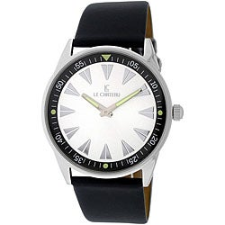 Le Chateau Men's Sport Luminous Hands White Dial Watch